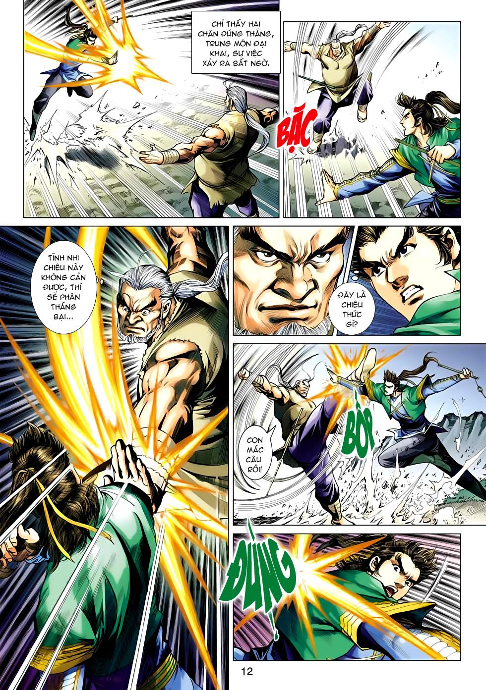 Xạ Điêu Anh Hùng Truyện chap 100 – End Trang 12 - Mangak.info