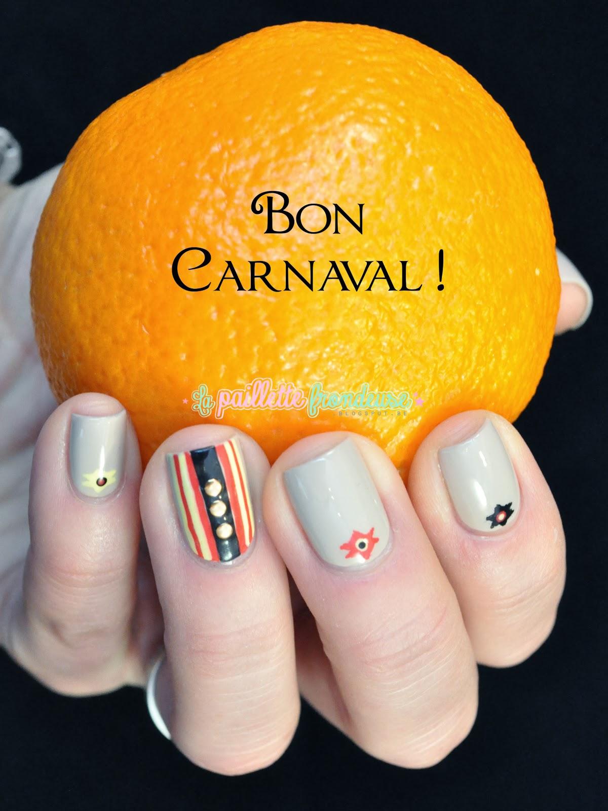 nailstorming carnaval de binche
