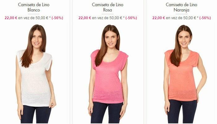 Camisetas de lino 22