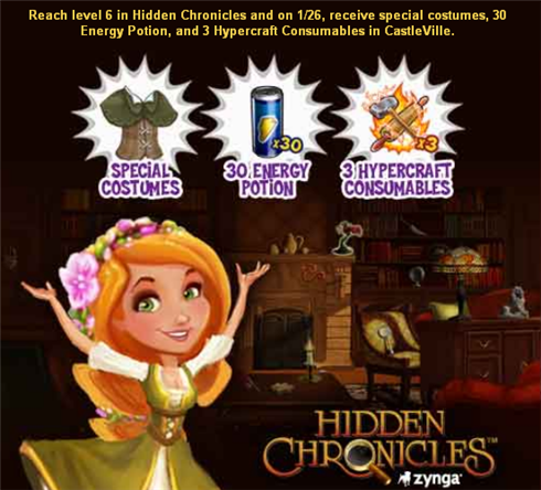 Castleville Free Energy With Hidden Chronicle
