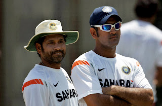 Sachin & Dhoni