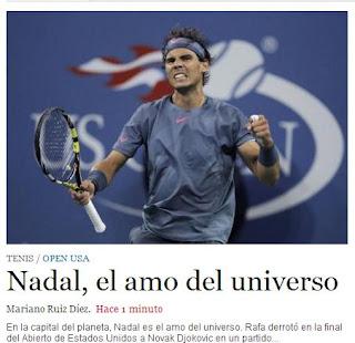 Rafa Nadal gana su segundo Open de Estados Unidos