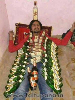 funny image Drunk Marathi boy