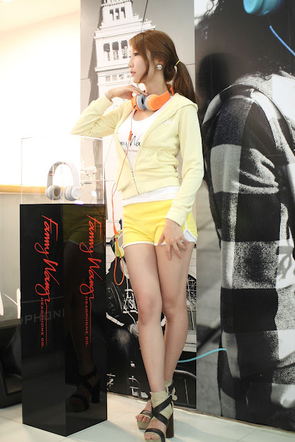 4 Go Jung Ah for Fanny Wang Headphone-very cute asian girl-girlcute4u.blogspot.com