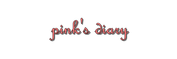 pink&#39;s diary