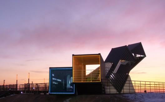 Casas contenedores casa contenedor oceanscope de los arquitectos anl studio - Contenedores maritimos usados baratos ...