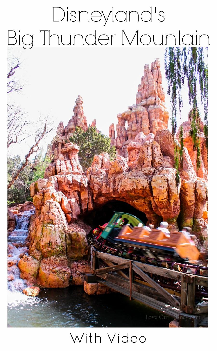 Disneyland Big Thunder Mountain Now Open
