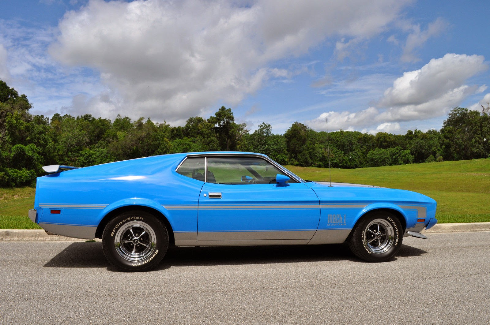 1973 ford mustang mach 1 q code for sale american muscle. Black Bedroom Furniture Sets. Home Design Ideas