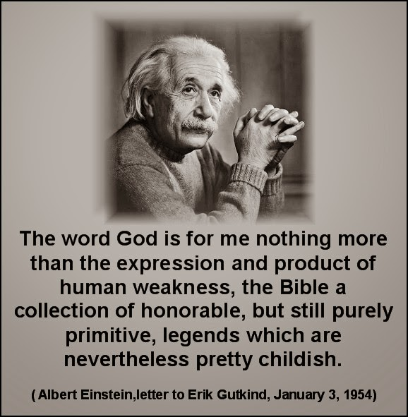 Einstein and God
