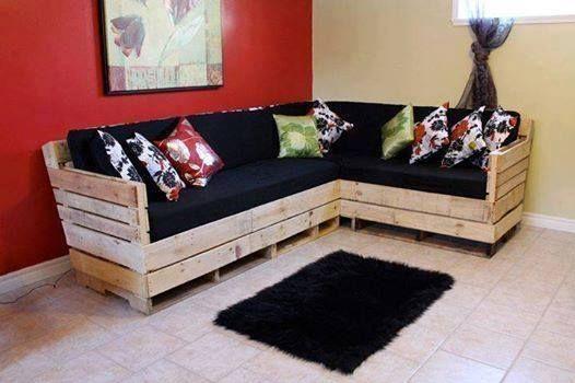 Un estilo diferente muebles ecol gicos for Como hacer muebles para sala