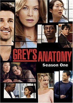 Greys Anatomy - A Anatomia de Grey  1ª Temporada Completa Séries Torrent Download capa