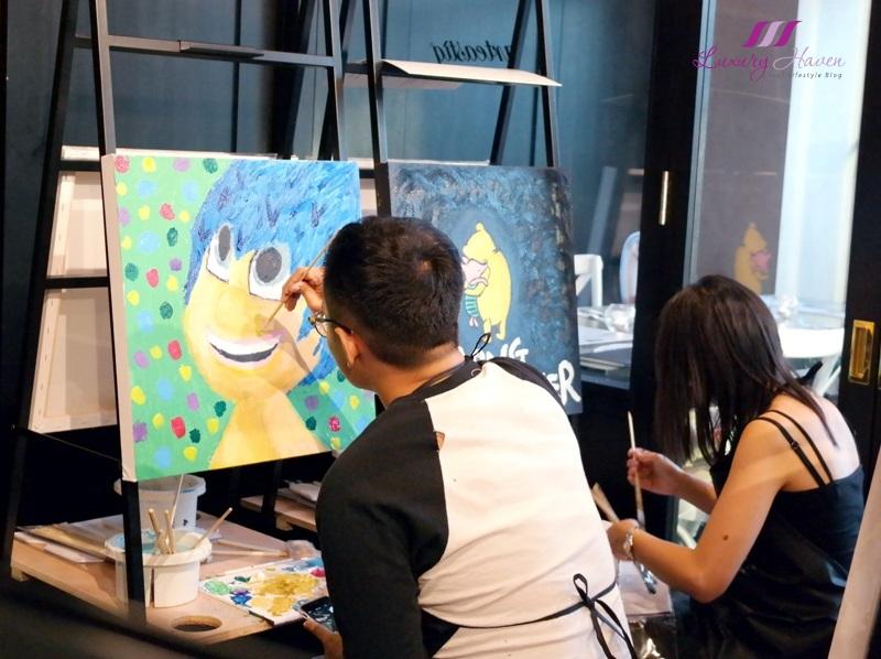 arteastiq art jam studio painting