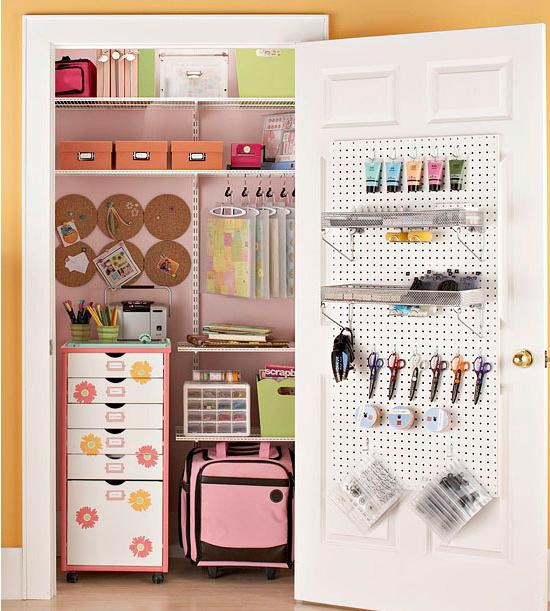 For 21 Clever Tips On Organizing The Closets In Your Home CLICK HERE