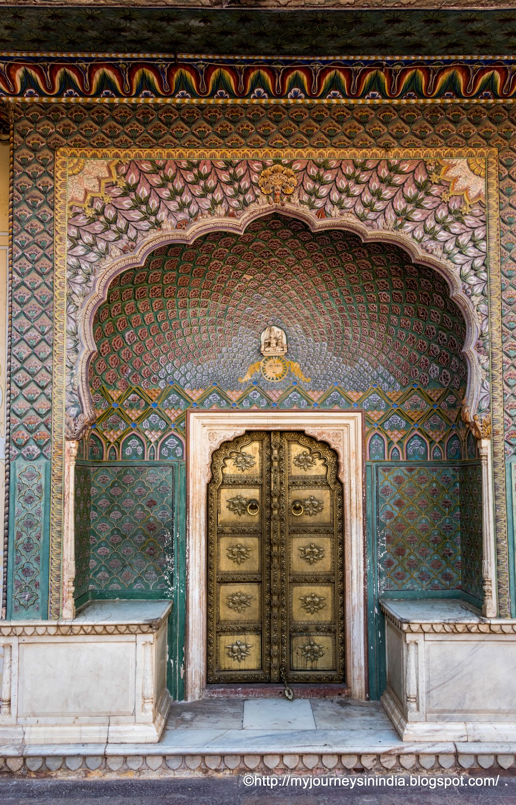 Lotus Gate at City Palace Jaipur