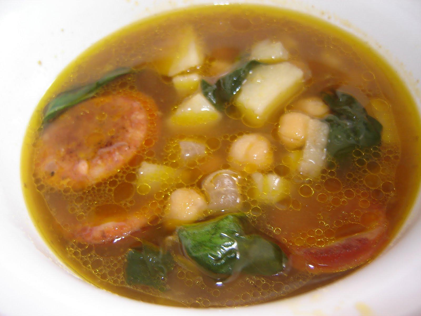 eatamarthacupcake: Eastern European Chickpea Soup
