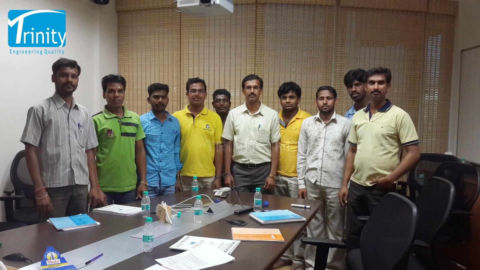 NDT Training Center: Training in Liquid Penetrant Inspection