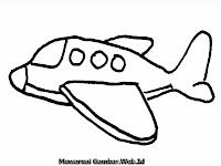 Gambar Kartun Pesawat Terbang Penumpang