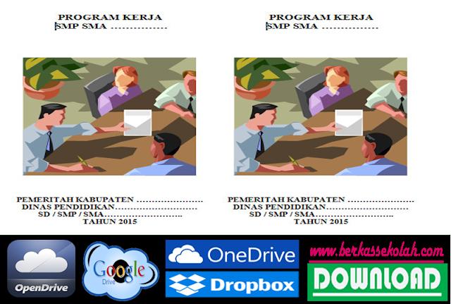 Contoh Program Kerja Kurikulum SD SMP SMA 2015