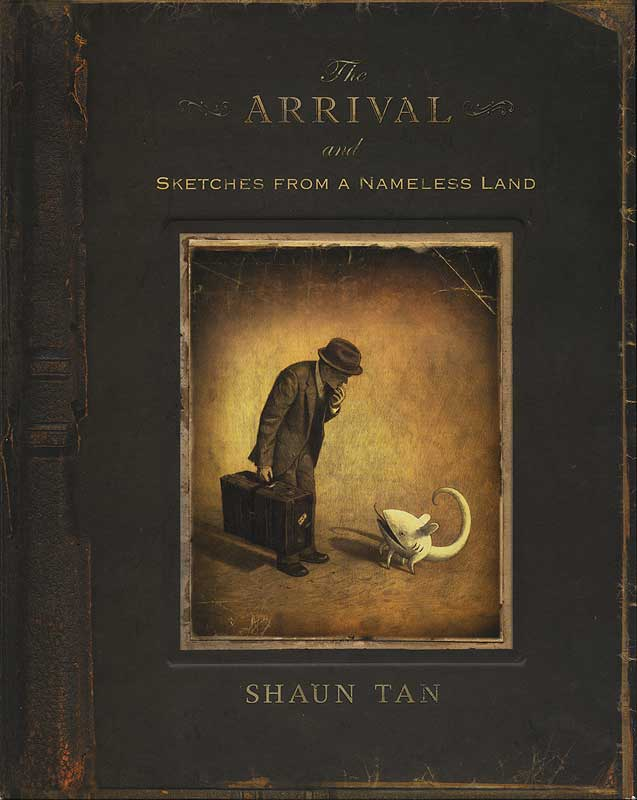 the arrival shaun tan techniques Visual literacy and picture story books  art• looks at how elements and media/techniques cometogether to  2010• shaun tan, the arrival.