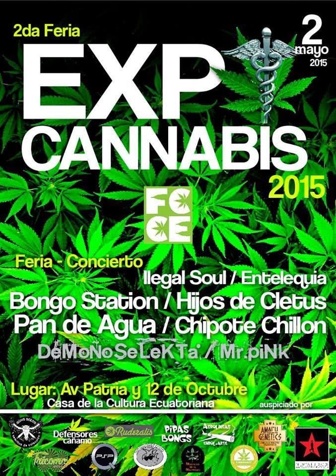 2da. EXPO CANNABIS uio-Ec 2015