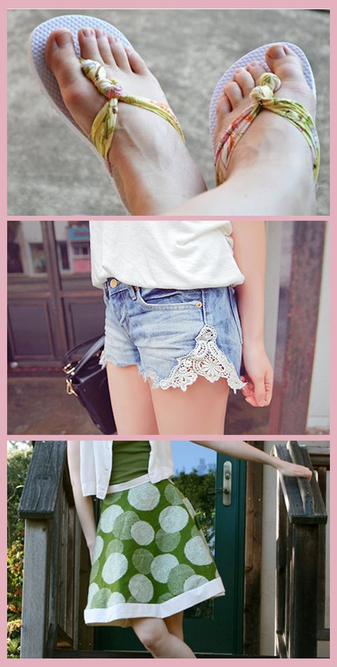 DIY Summer Fashion Clothing Tutorials