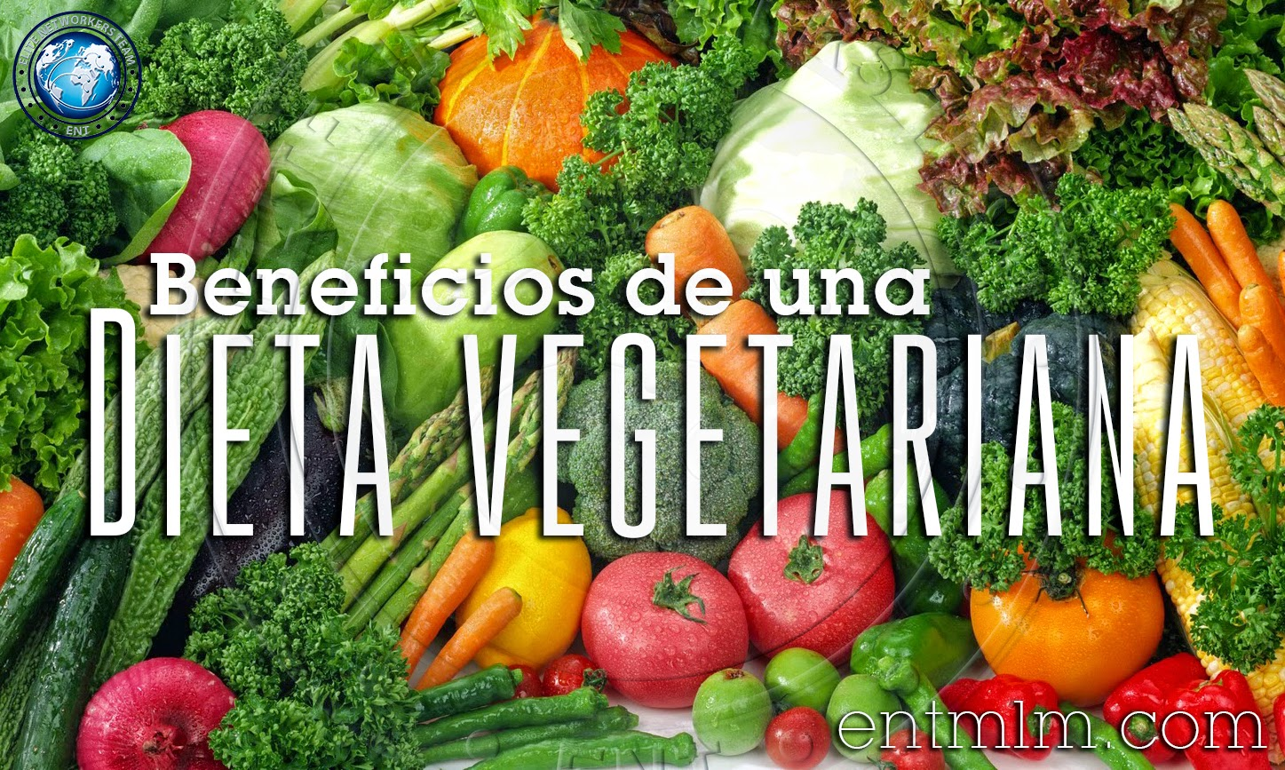 Beneficios de una dieta vegetariana