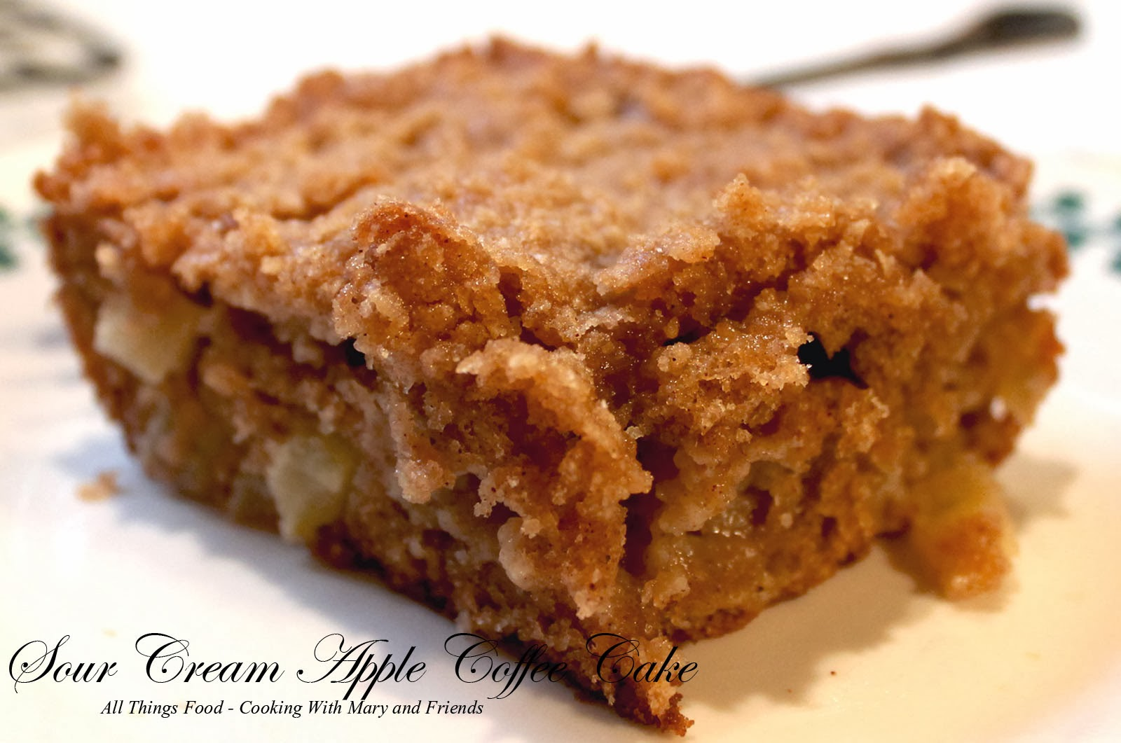 Cinnamon Apple Sour Cream Cake With Spelt Recipes — Dishmaps