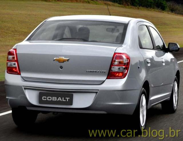 Novo Chevrolet Cobalt 2012 - lanternas traseiras