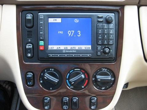 Pumpkin fine cars and exotics 2001 mercedes benz ml320 for 2001 mercedes benz ml320 radio