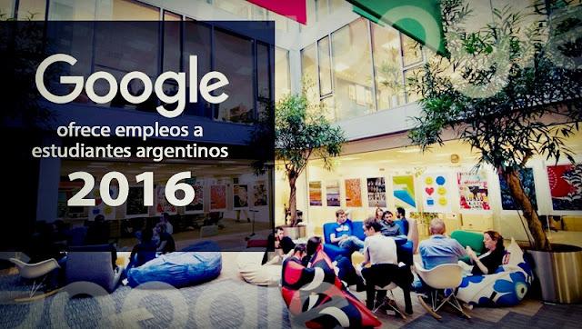 Google ofrece empleos a estudiantes argentinos para 2016 for Google argentina oficinas