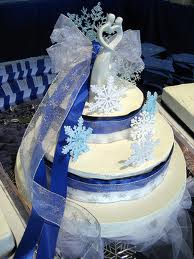 Winter Wedding Cakes Pictures