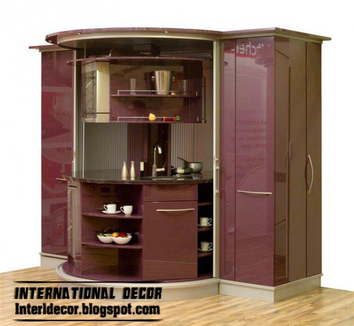 Cabinets modules designs for small kitchens small for Small cupboard designs