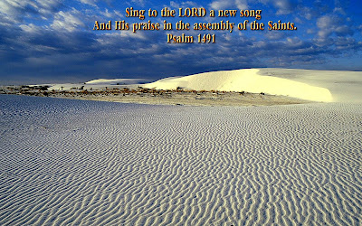 Scenic Bible Verse Desktop Background