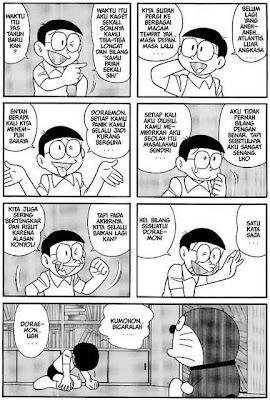 Kisah Mengharukan Komik Doraemon Episode Terakhir