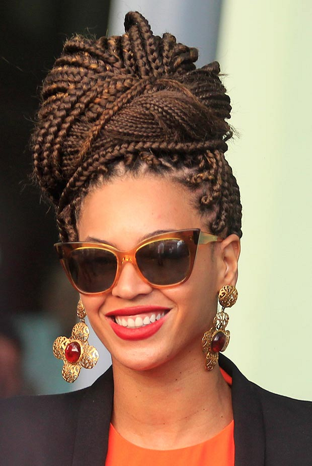 The Box Braids: Beyonce Double Take