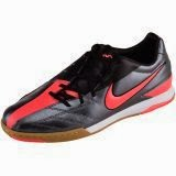 Sepatu Futsal Nike T90 Shoot IV IC - Dark Grey Red Black