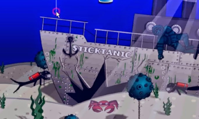 Stickman Underwater Death Walkthrough.