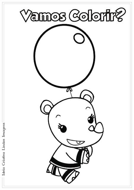 Desenho de Ni Hao Kai-Lan para colorir