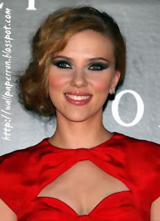 Scarett Johansson Hair Style