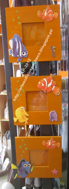 Moldura Nemo: decoupage 3D Canon2+150