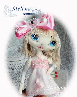 авторская текстильная кукла капризуля бонни