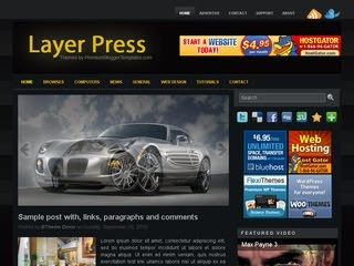 Layer Press Wordpress Template