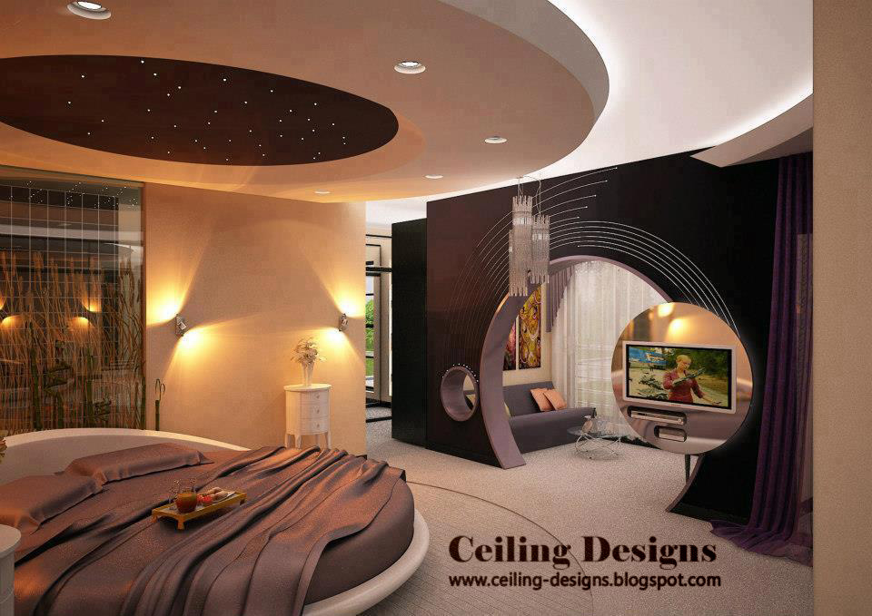 Modern kids room gypsum ceilings designs easy home for Interior design bedroom ceiling