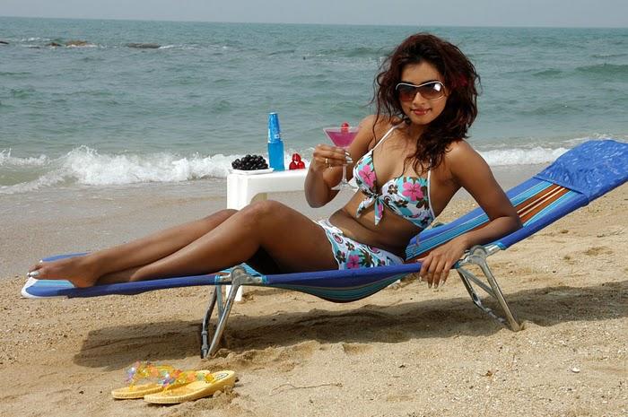 Dimple Chopra  - Dimple Chopra Beach Babe Bikini Pics