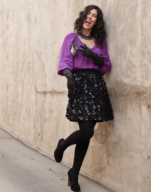 Bryan Whitely photograph Jessica Moazami aka fashion Junkie featuring DVF top and Alice + Olivia
