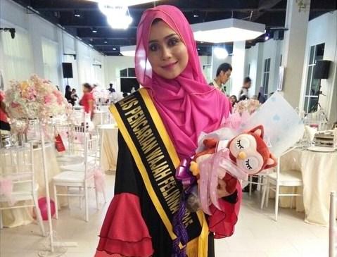 Izza Erma Ibrahim Miss Most Potential - Pencarian Wajah Felinna 2015