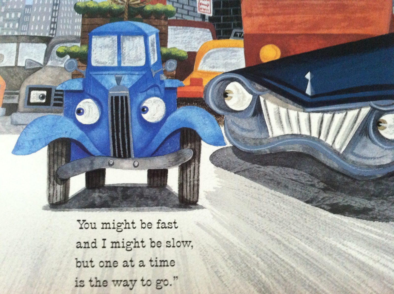 Quirky Bookworm: 31 Days of Awesome Kids\' Books: Little Blue Truck ...