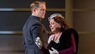 Lawrence Zazzo, Rebecca Evans - Handel Orlando - Welsh National Opera - photo Bill Cooper