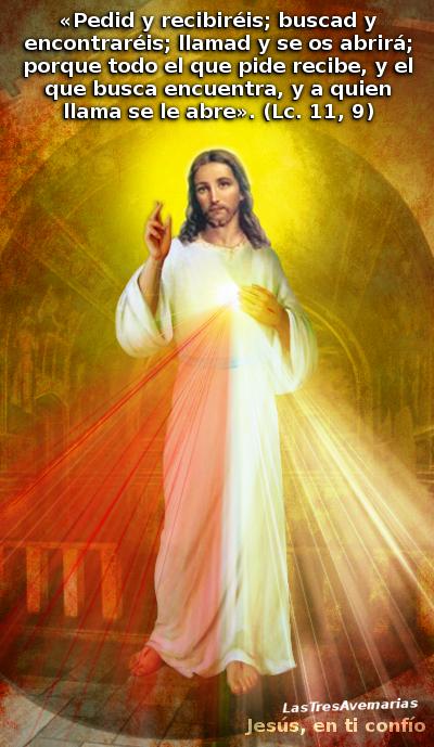 para pedir gracias,favores,y lo que sea a jesus a las tres de la tarde