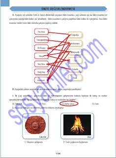 Sinif sosyal bilgiler ders kitabı sayfa 114 ün cevapları meb